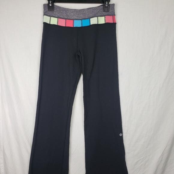 e5cfd8b976 lululemon athletica Pants | Lululemon Womens Yoga Leggings Flare ...
